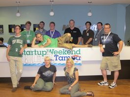 Startup Weekend Tampa: CityQuest Team wins 2nd Place!